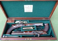 Cased Pistols